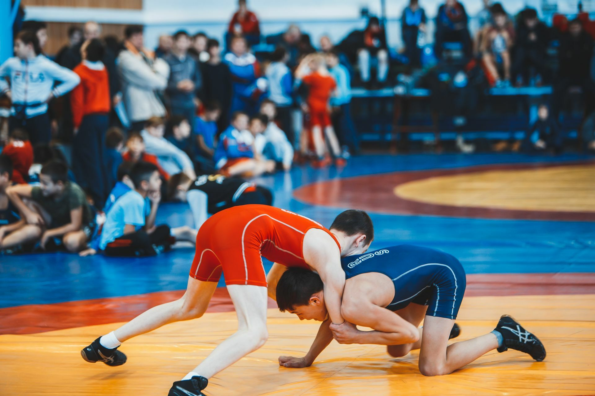Open freestyle wrestling tournament